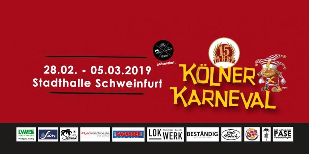 Kolner Karneval Tickets Fr 01 03 2019 Um 20 00 Uhr Eventbrite