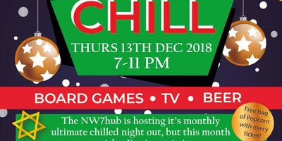 Anti Valentines Day Mill Hill Chill - Drink beer, play board games. No hearts.