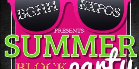 BGHH Summer Block Party tickets