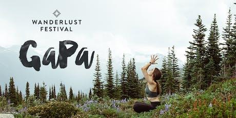 Wanderlust Festival GaPa 2019 Tickets