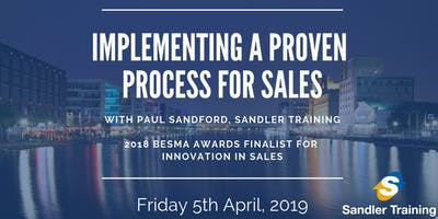 Business Leaders Masterclass - Implementing a Proven Common Process for Sales