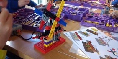 LEGO: bouw een menselijke robot met Young Engineers