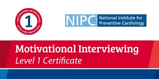 Motivational Interviewing Level 1 Certificate September 26th & 27th 2019 (NIPC Alliance Members)