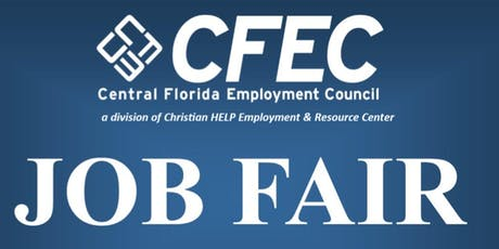 Central Florida Job Fair tickets