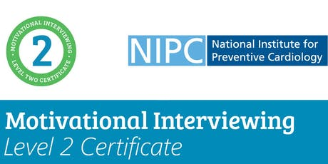 Motivational Interviewing Level 2 Certificate 28th & 29th November 2019 (NIPC Alliance Members) tickets