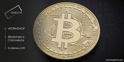 Blockchain e Criptovalute