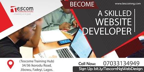 Web Design/Development Training   tickets
