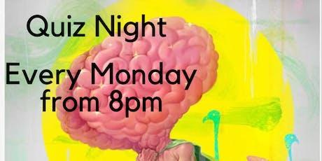 Quiz Night with Quiz Mistress Helen tickets