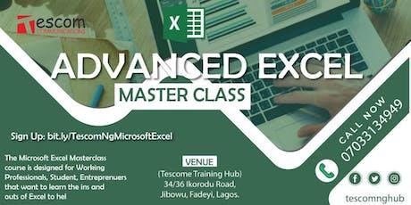 Microsoft Excel Training  tickets