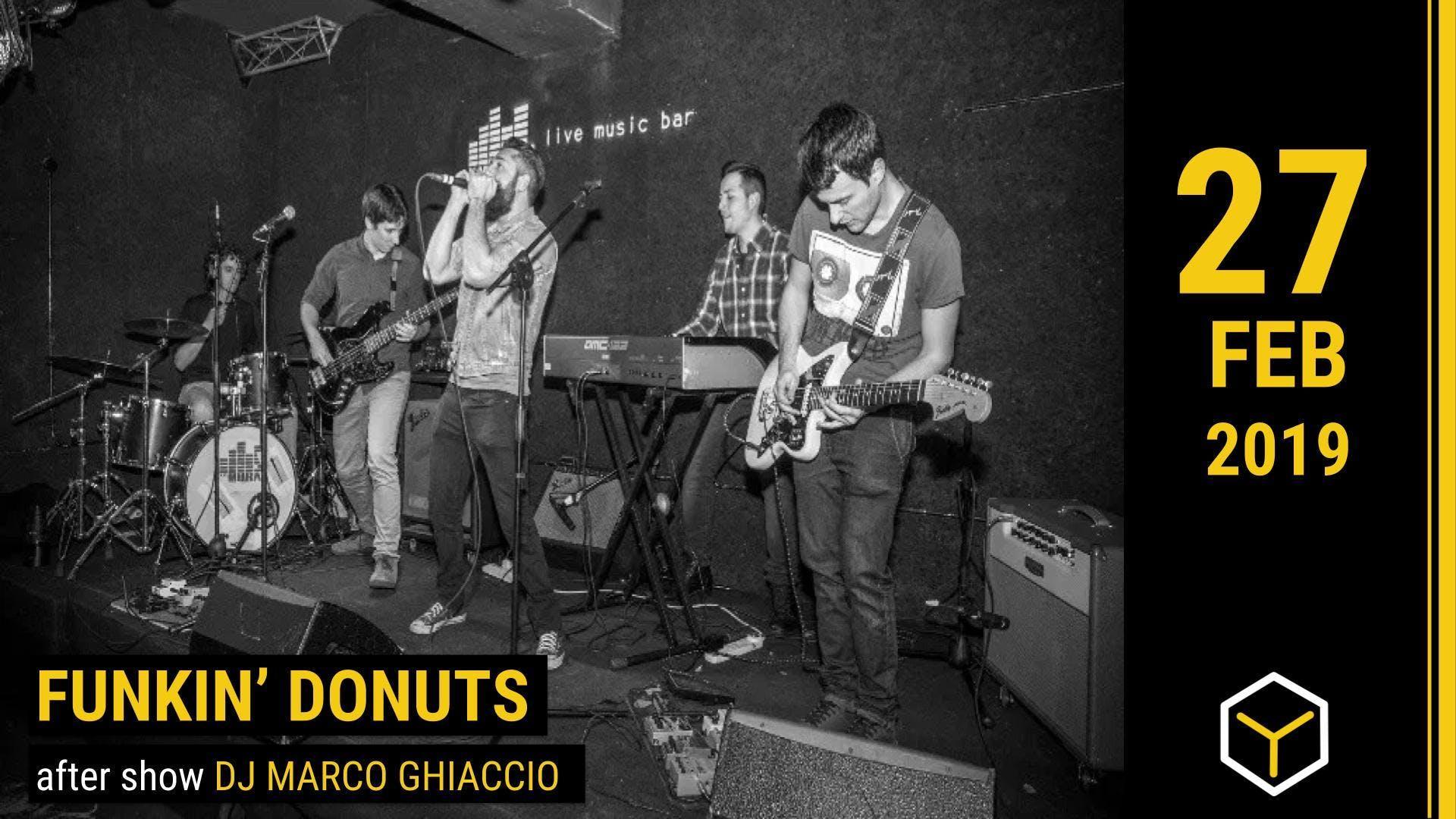FUNKIN� DONUTS - The Yellow Bar