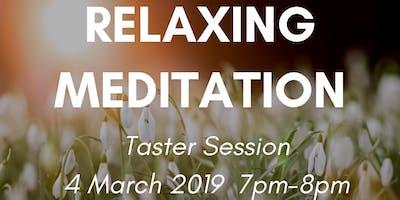 Relaxing Meditation - Taster Session