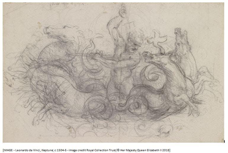Leonardo's Sketchbook Workshop with Emma Lance *SOLD OUT*