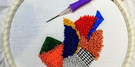 Needle Punch Embroidery tickets