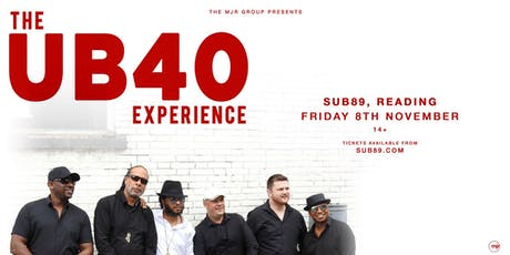 The UB40 Experience (Sub89, Reading) tickets