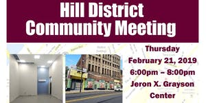 Hill District Community Meeting  - February 21, 2019