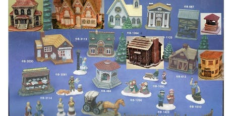 Christmas Village Piece a Month Club Annual Membership tickets