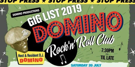 The Spuny Boys with D J Domino and guest D J Steve Stack-O-Wax tickets