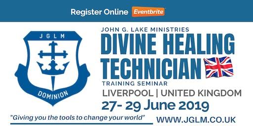 Liverpool JGLM Divine Healing Training Seminar