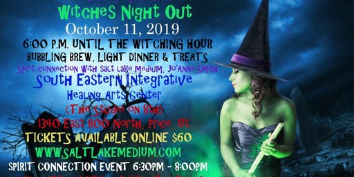 "2019 HALLOWEEN TREAT LIVE ""SPIRIT CONNECTION"" EVENT WITH SALT LAKE MEDIUM, JO'ANNE SMITH"