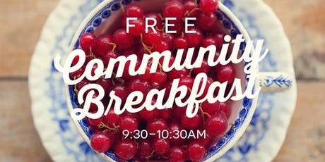 Free Community Breakfast tickets