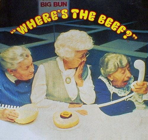Where's the Beef? - Beefy Sales Training
