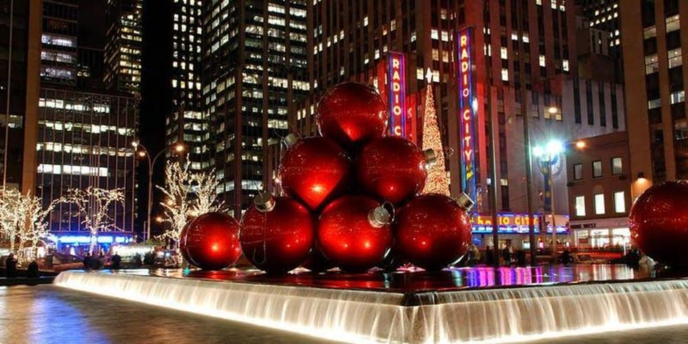 Christmas Ny 2019.New York City Bus Trip December 7 2019 Tickets Sat Dec