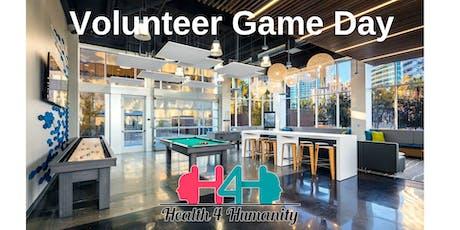 Volunteer Game Day tickets