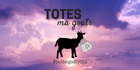 Boise Goat Yoga - May, 2019 MAKEUP tickets