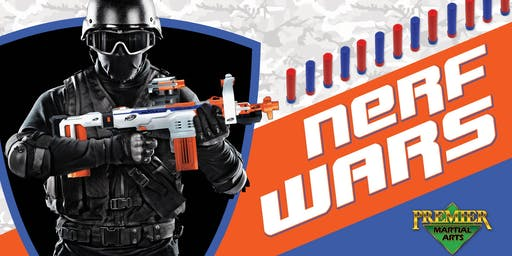 Premier Martial Arts - Summer Nerf Wars Camp!
