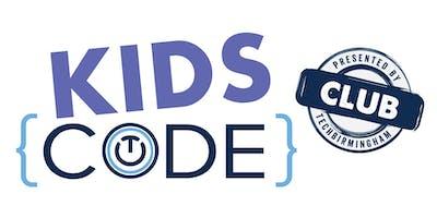 Kids Code Sunday October 13, 2019