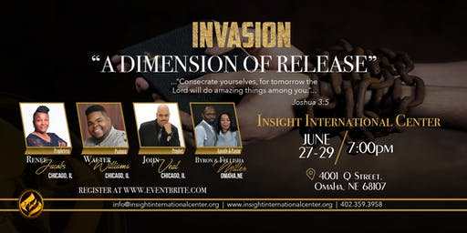 "InVasion: ""A Dimension of Release"""