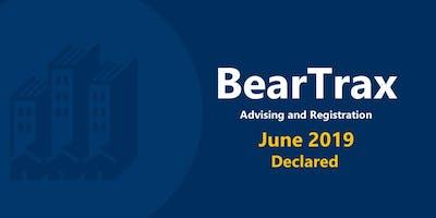 June 2019 BearTrax Orientation (Declared)