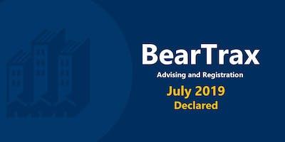 July 2019 BearTrax Orientation (Declared)