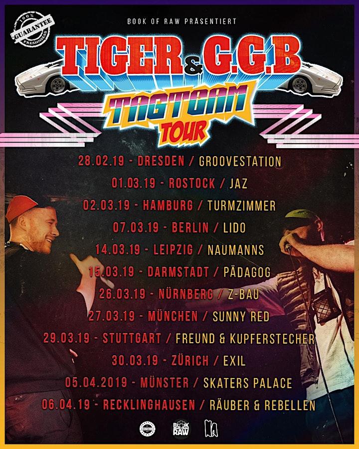 Tiger & G.G.B. Tagteam Tour Räuber & Rebellen Recklinghausen: Bild