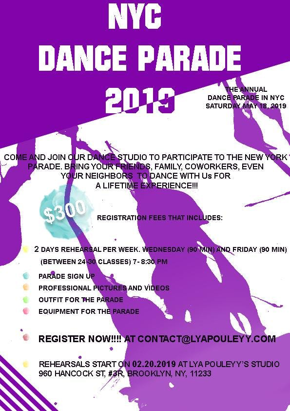 NYC DANCE PARADE CLASSES
