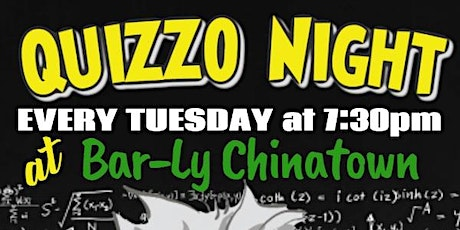 Bar-Ly's Tuesday Quizzo Nights tickets