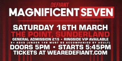 Defiant Wrestling: SUNDERLAND - Saturday, March 16th