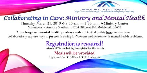 Collaborating In Care Ministry And Mental Health In Mobile Al