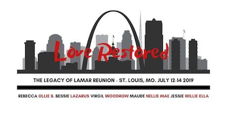 Lamar Legacy Reunion tickets