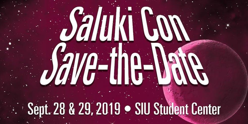 Siuc Calendar.Saluki Con Tickets Sat Sep 28 2019 At 10 00 Am Eventbrite