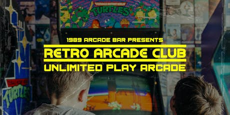 Retro Arcade Club - Unlimited Play Arcade tickets