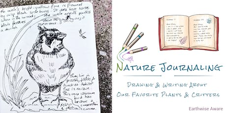 Nature Journaling with EwA tickets