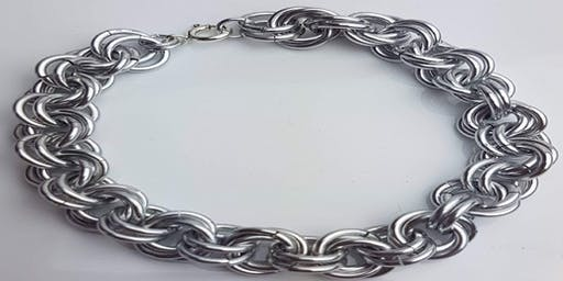 Make A Sterling Silver  Chainmaille Bracelet