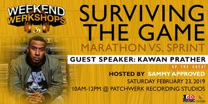 Weekend Werkshop: Surviving The Game: Marathon vs...