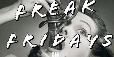 Friday Night Party (Freak Fridays) at Slate NY! Music, Games & More! Free Entry!(Mention You're With Rory)