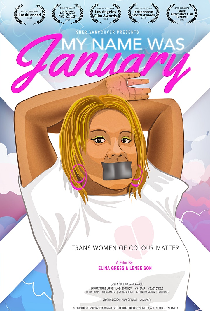 Free Screening and Panel Discussion of 'My Name Was January' image
