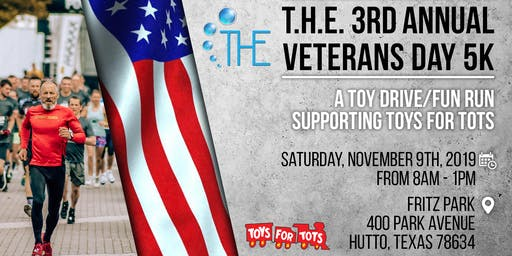 T.H.E. 2019 Vets Day 5K | Annual Fun Run for Toys for Tots