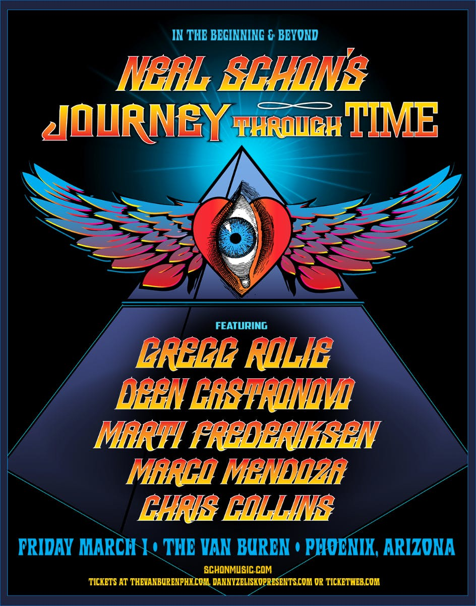 Neal Schon's Journey Through Time