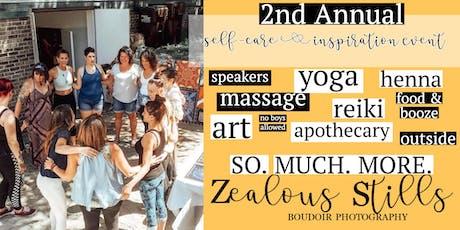 Self Care & Inspiration: Zealous Stills tickets