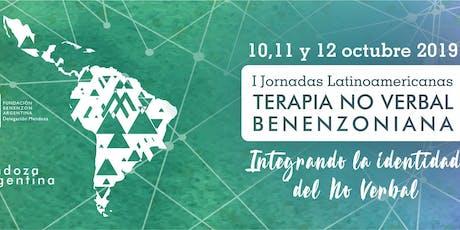 Jornadas Latinoamericanas Terapia No Verbal Benenzon 2019 entradas